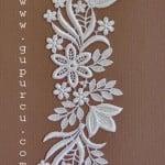 ogprc30 gelinlik güpür motifleri